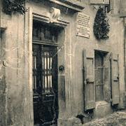 Saint-Affrique (Aveyron) CPA la maison natale de Castelnau