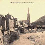 Saint-Affrique (Aveyron) CPA la Sorgues et les cazes