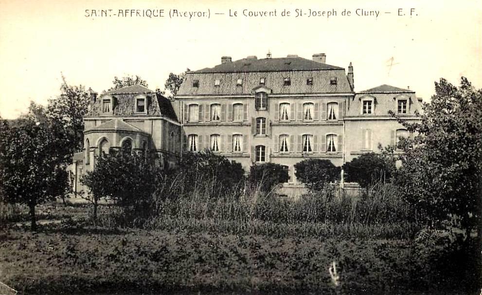 Saint-Affrique (Aveyron) CPA le couvent Saint Joseph
