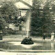 Saint-Affrique (Aveyron) CPA le jardin public