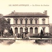 Saint-Affrique (Aveyron) CPA le Palais de Justice