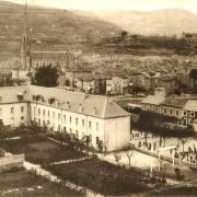 Saint-Affrique (Aveyron) CPA le pensionnat Saint-Jean-Baptiste