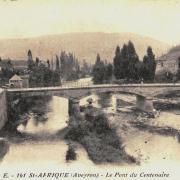 Saint-Affrique (Aveyron) CPA le pont du Centenaire