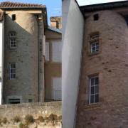 Saint-Affrique (Aveyron) la tour du Théron