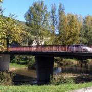 Saint-Affrique (Aveyron) le pont de la Résistance