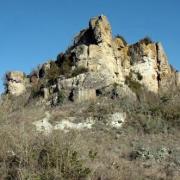 Saint-Affrique (Aveyron) Le rocher de Caylus