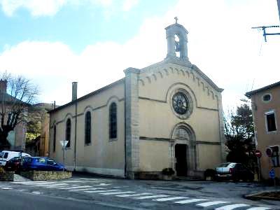 Saint-Affrique (Aveyron) le temple