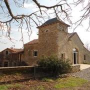 Saint-Affrique (Aveyron) Tiergues, l'ancienne chapelle restaurée