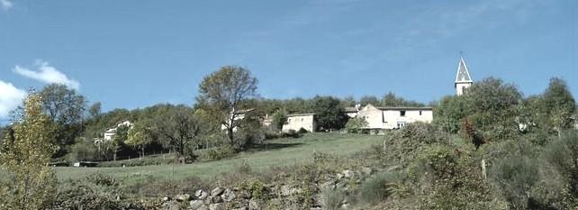 Saint-Affrique (Aveyron) Vailhauzy, vue générale