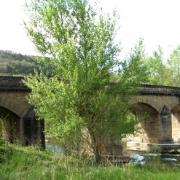 Saint-Affrique (Aveyron) Vendeloves, le pont sur la Sorgues