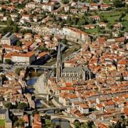 Saint-Affrique (Aveyron) Vue générale