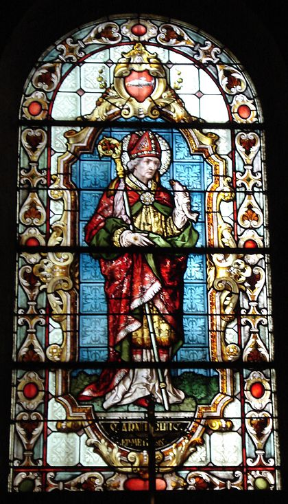 Saint Arnoul, vitrail