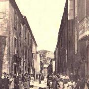 Saint-Bauzille-de-Putois (Hérault) La Grande rue CPA