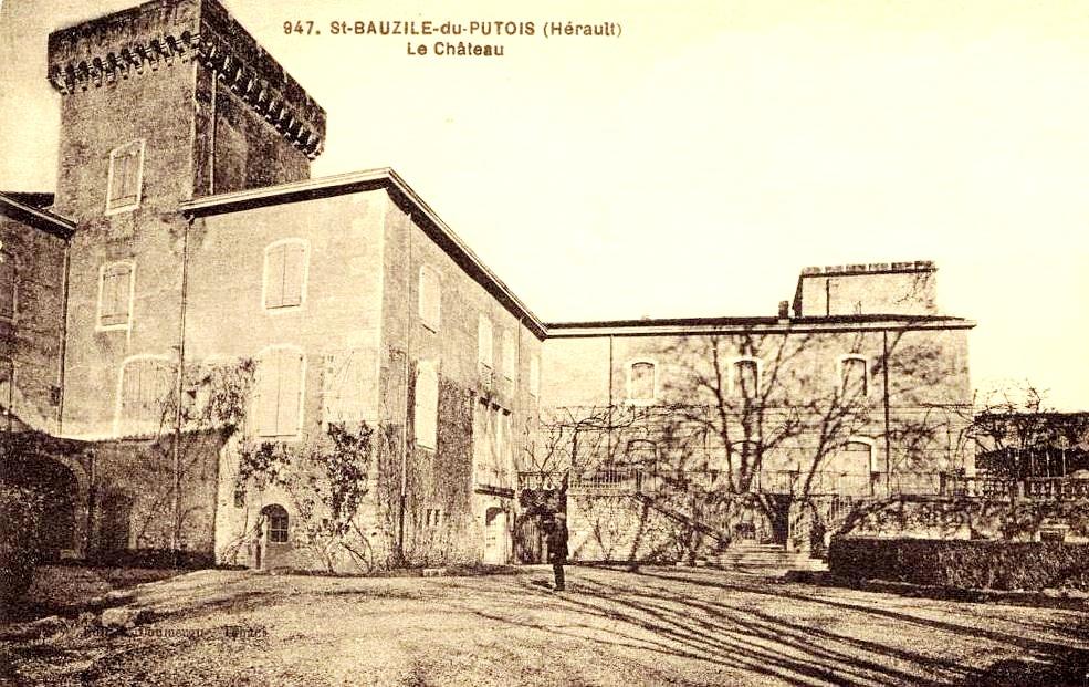 Saint-Bauzille-de-Putois (Hérault) Le château CPA