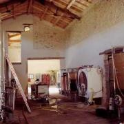 Saint-Bauzille-de-Putois (Hérault) Sauzet, les chais
