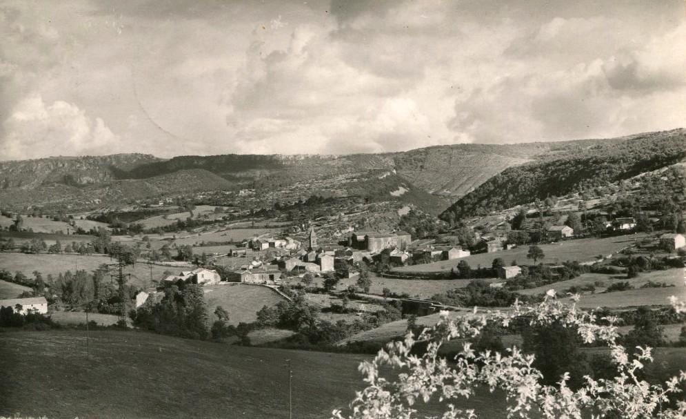 Saint-Beaulize (Aveyron) CPA Vue générale