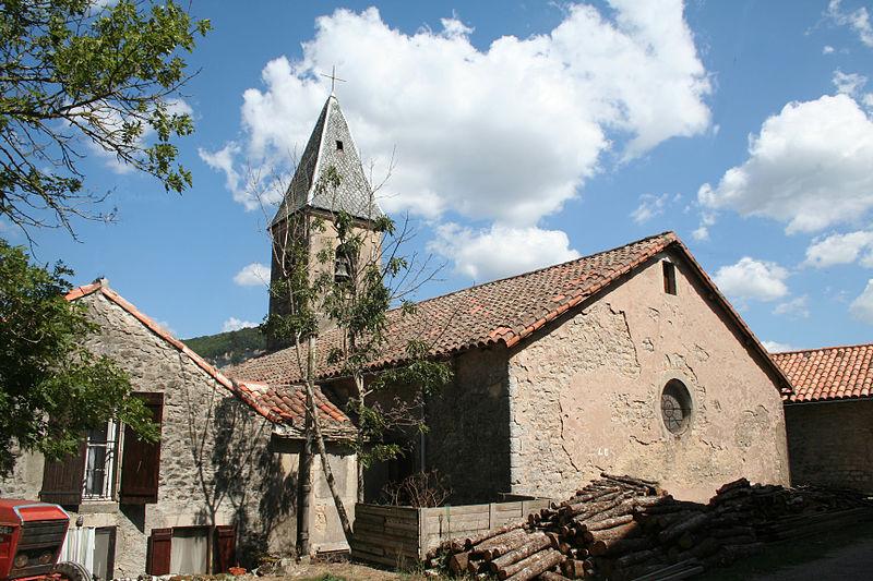 Saint-Beaulize (Aveyron) L'église