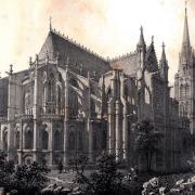 Saint-Denis, La basilique CPA