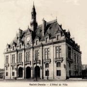 Saint denis seine saint denis l hotel de ville cpa