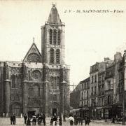 Saint denis seine saint denis la basilique et la place victor hugo