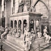 Saint denis seine saint denis la basilique interieur cpa