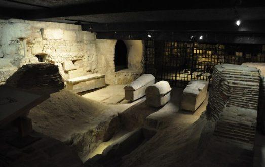 La nécropole archéologique de saint Denis