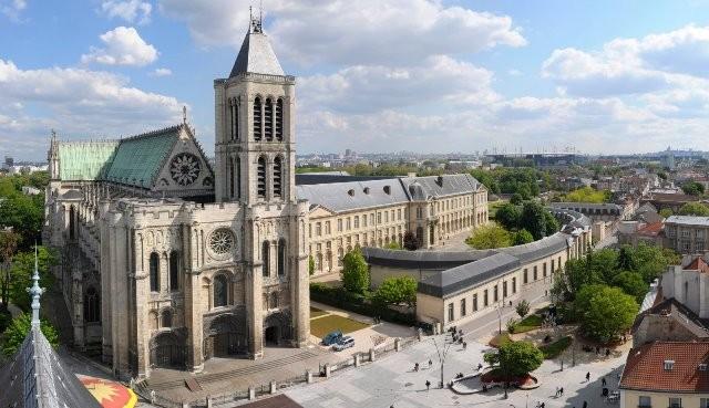 Saint denis seine saint denis la basilique