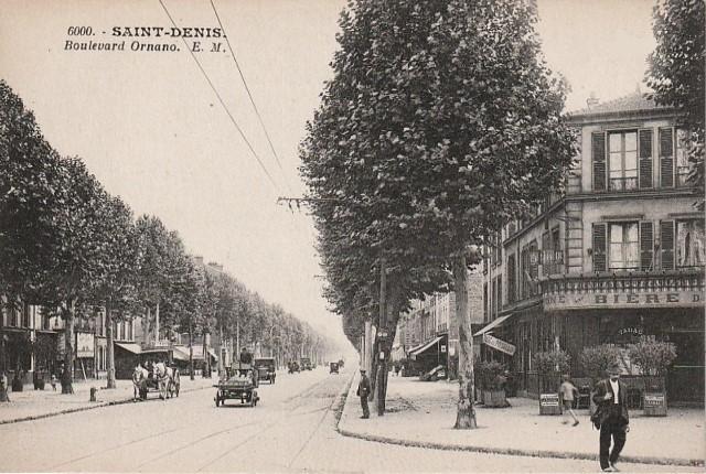 Saint denis seine saint denis le boulevard ornano cpa