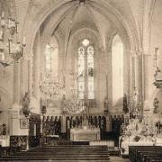 Saint-Félix-de-Sorgues (Aveyron) CPA l'église