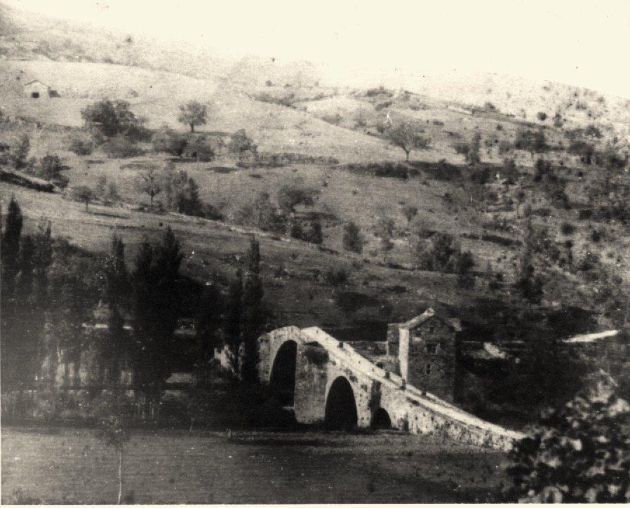 Saint-Félix-de-Sorgues (Aveyron) CPA le pont Vieux