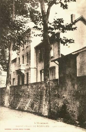 Saint-Félix-de-Sorgues (Aveyron) CPA les écoles