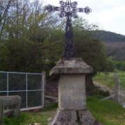 Saint-Félix-de-Sorgues (Aveyron) Drulhe, la croix