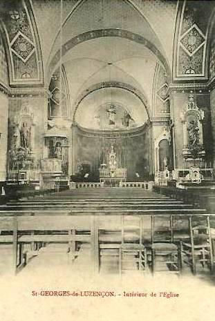 Saint-Georges-de-Luzençon (Aveyron) L'église