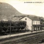 Saint-Georges-de-Luzençon (Aveyron) La gare
