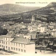 Saint-Georges-de-Luzençon (Aveyron) Vue générale