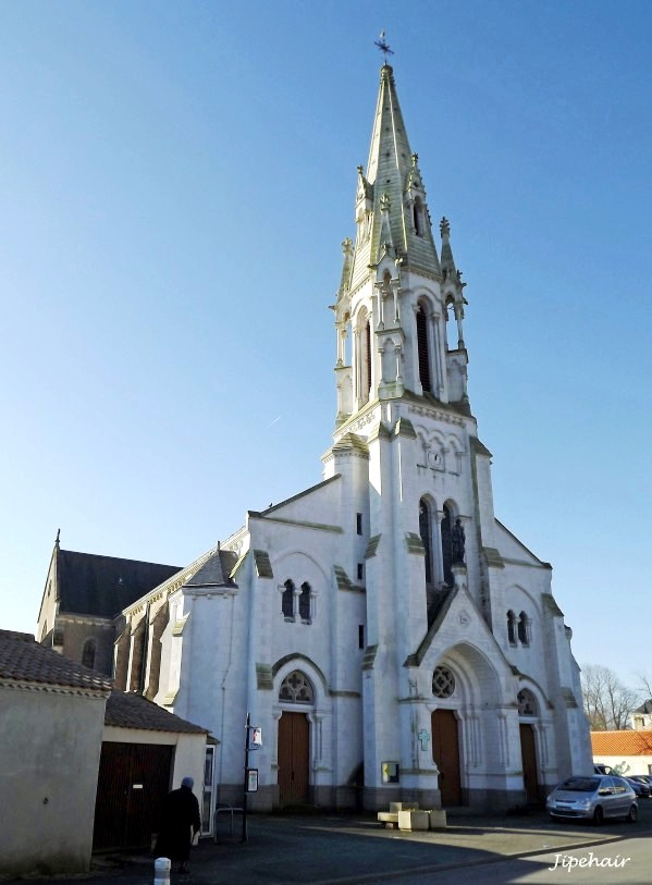 Saint-Gervais (Vendée) L'église