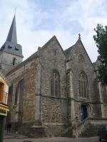 Saint-Gilles-Croix-de-Vie (Vendée) église Saint Gilles