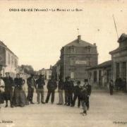 Saint-Gilles-Croix-de-Vie (Vendée) La mairie CPA