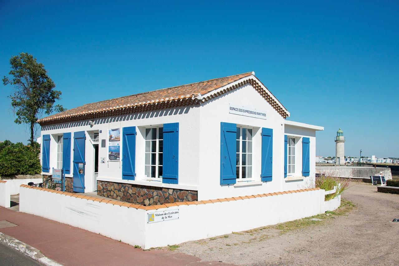 Saint-Gilles-Croix-de-Vie (Vendée) La Maison des écrivains de la mer