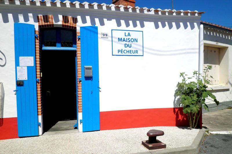 Saint-Gilles-Croix-de-Vie (Vendée) La Maison du pècheur