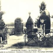 Saint-Gilles-Croix-de-Vie (Vendée) Le cimetière CPA