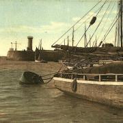 Saint-Gilles-Croix-de-Vie (Vendée) Le port de pèche CPA
