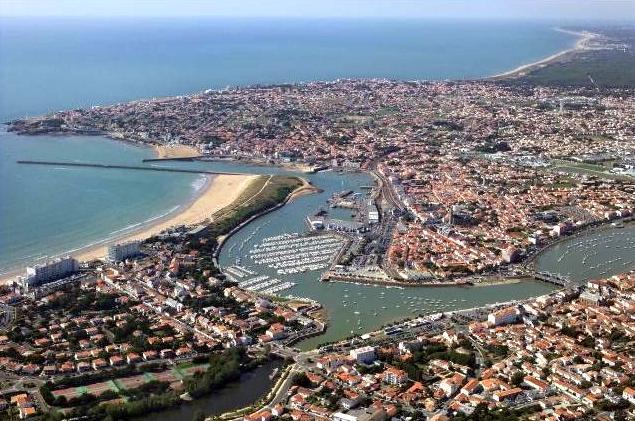 Saint-Gilles-Croix-de-Vie (Vendée) Vue générale