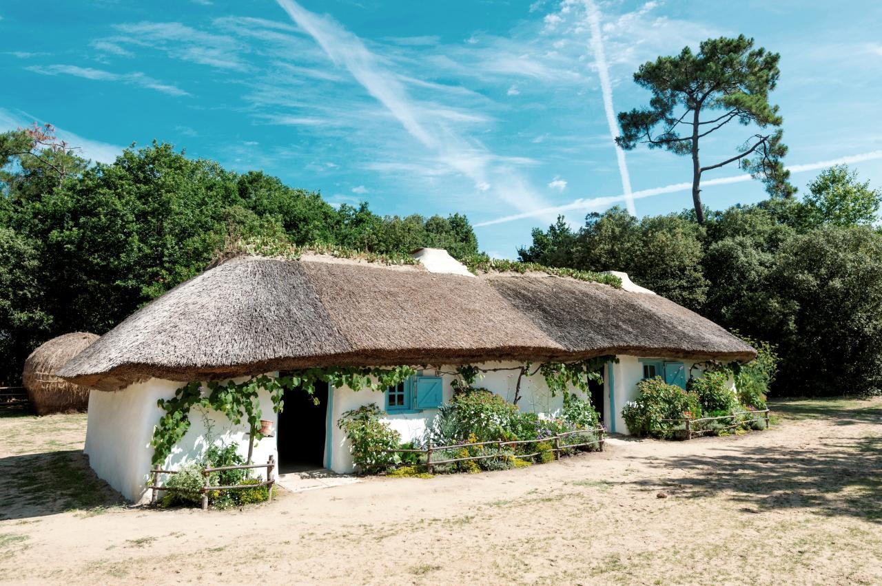 Saint-Hilaire-de-Riez (Vendée) La bourrine du Bois-Juquaud