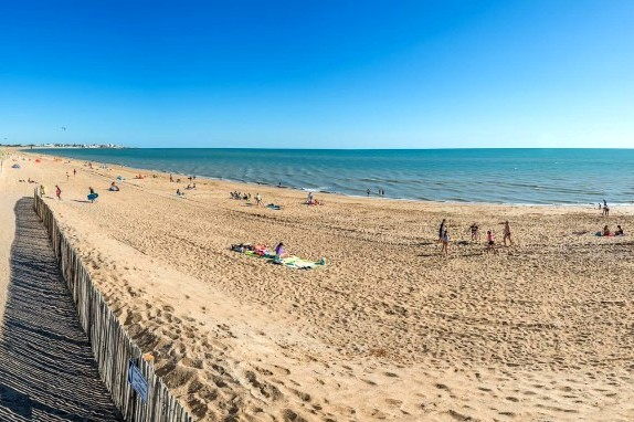 Saint-Hilaire-de-Riez (Vendée) La plage de la Parée Préneau