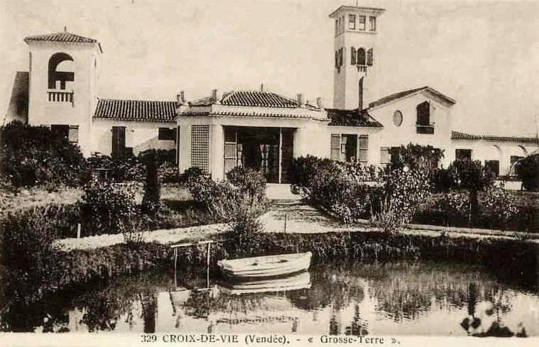 Saint-Hilaire-de-Riez (Vendée) La villa Grosse Terre CPA