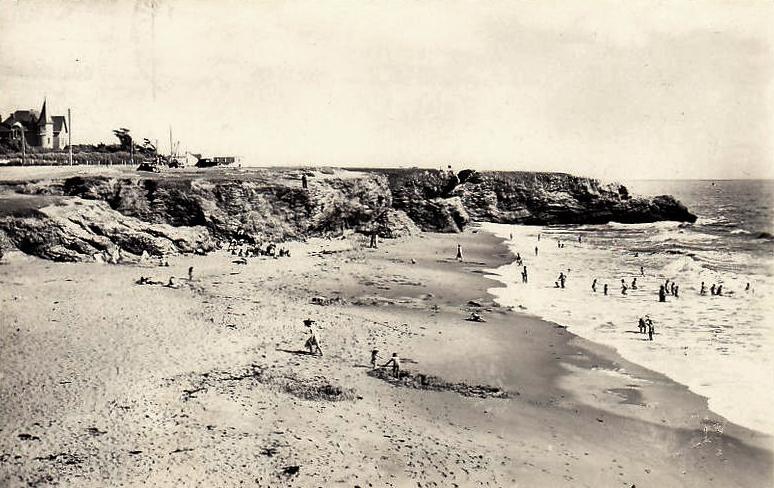 Saint-Hilaire-de-Riez (Vendée) Sion-sur-l'Océan, la plage du Trou du Diable CPA