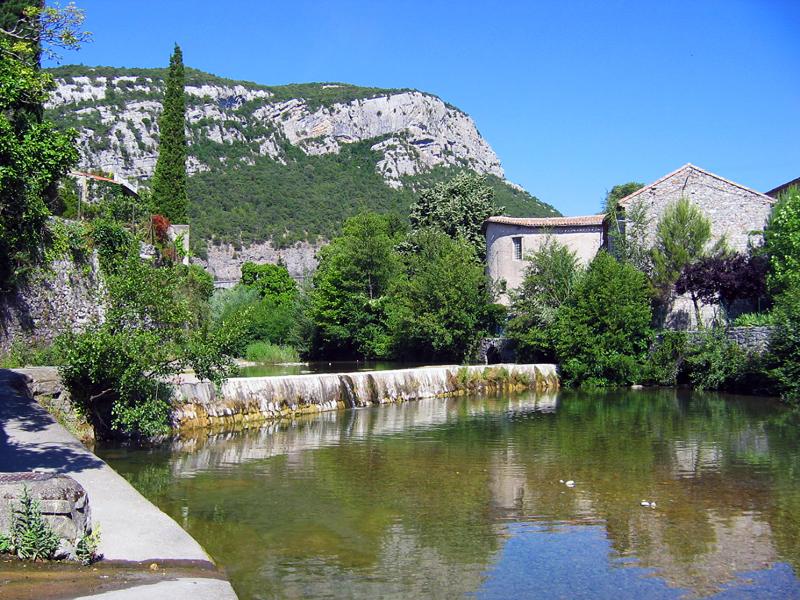 Saint-Hippolyte-du-Fort (Gard) Le Vidourle