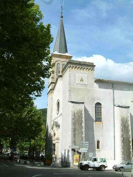 Saint-Hippolyte-du-Fort (Gard) L'église