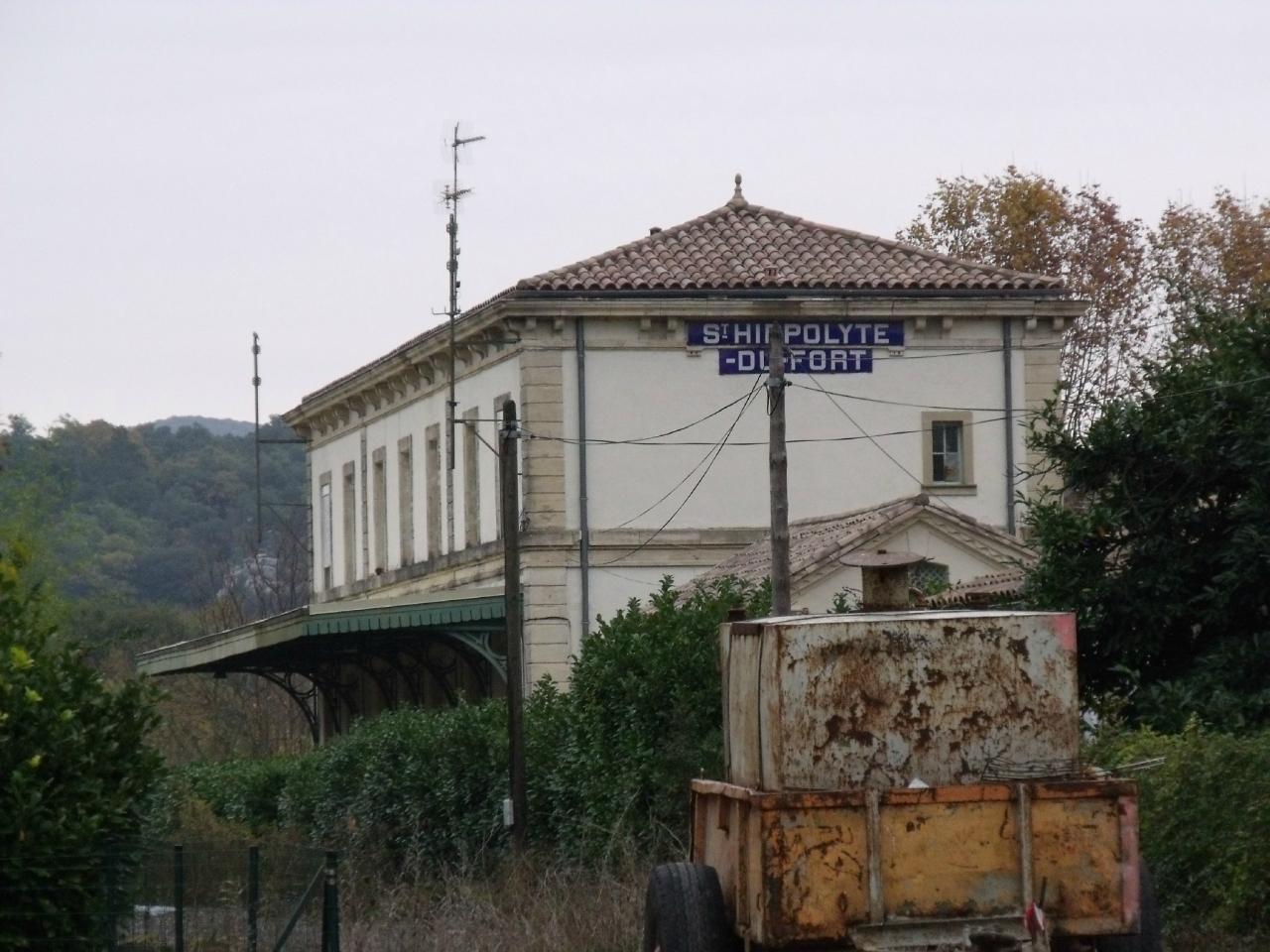 Saint-Hippolyte-du-Fort (Gard) La gare